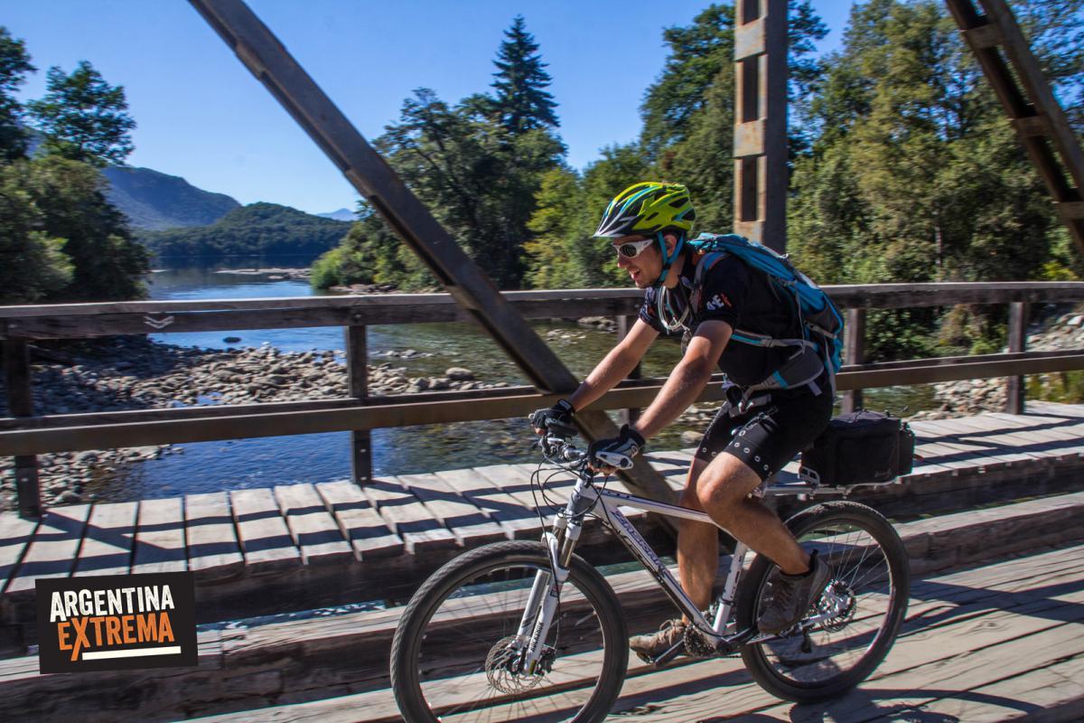 Cruce de puentes - Zona lago Lacar