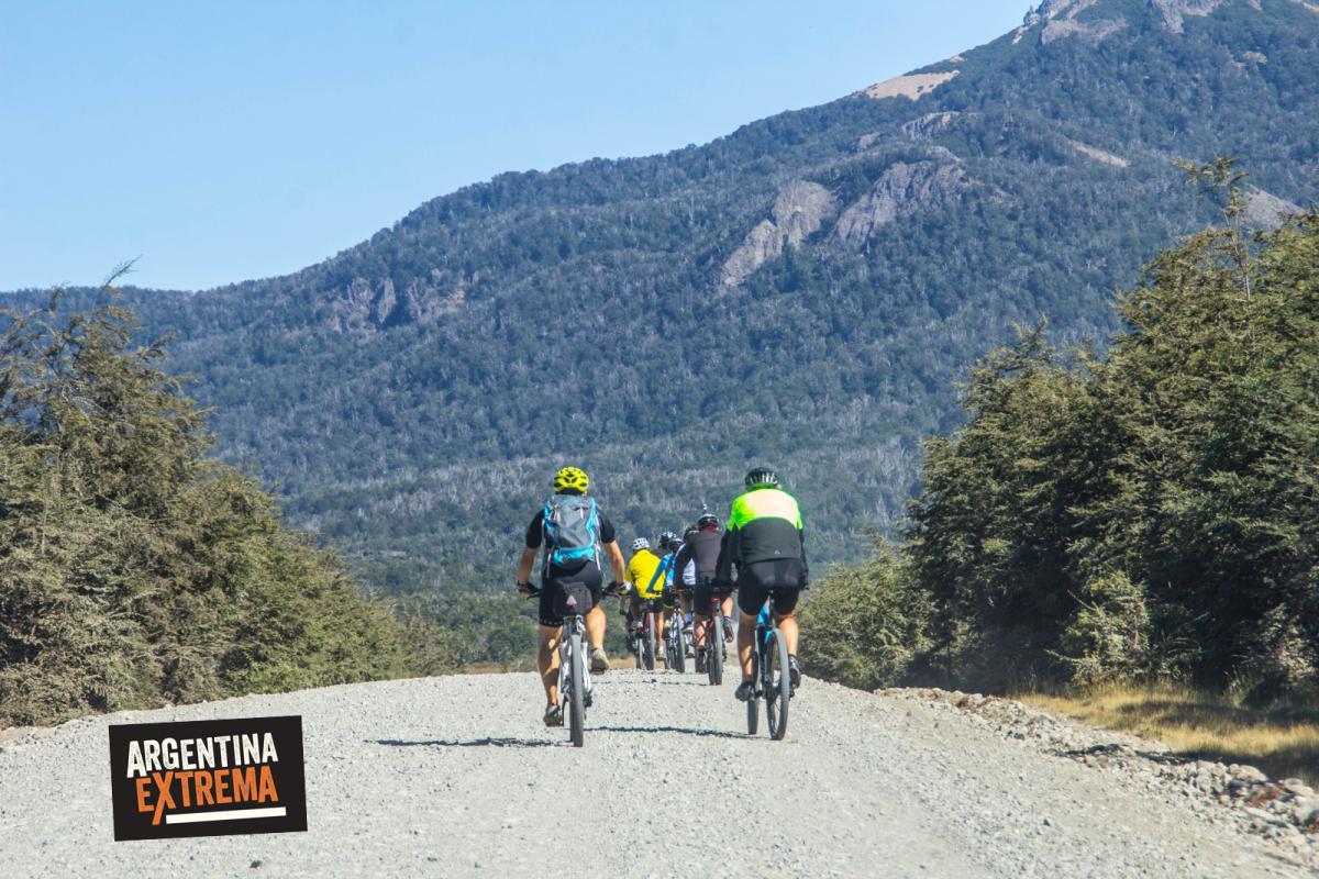 Pampa del Colorado - San martin de los Andes en Bici