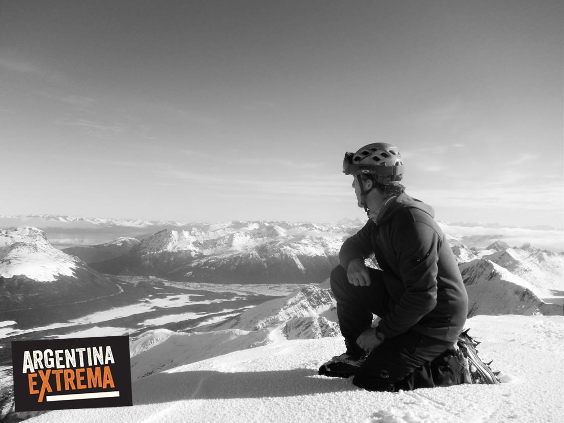 cumbre monte alvear ushuaia tierra del fuego