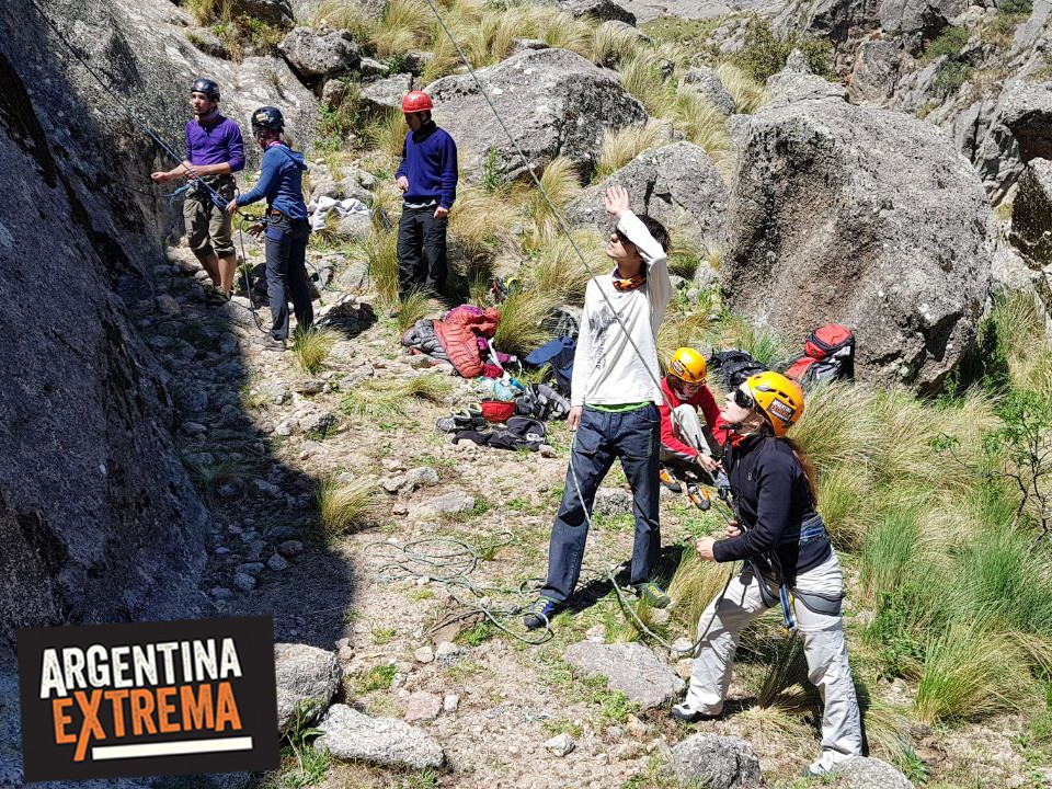 curso de escalada en roca en los gigantes cordoba 3 dias 205