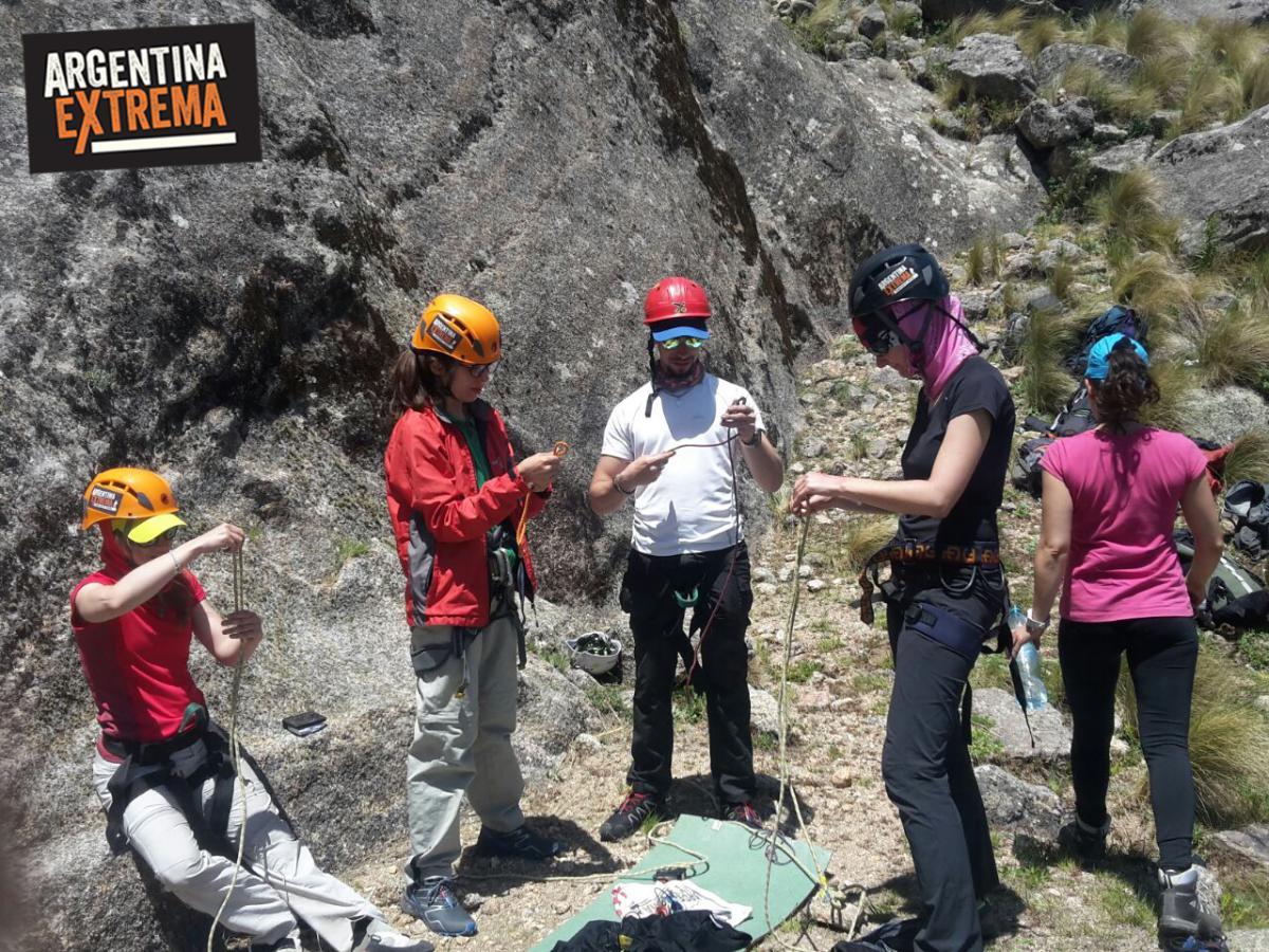 curso de escalada en roca en los gigantes cordoba 3 dias 290