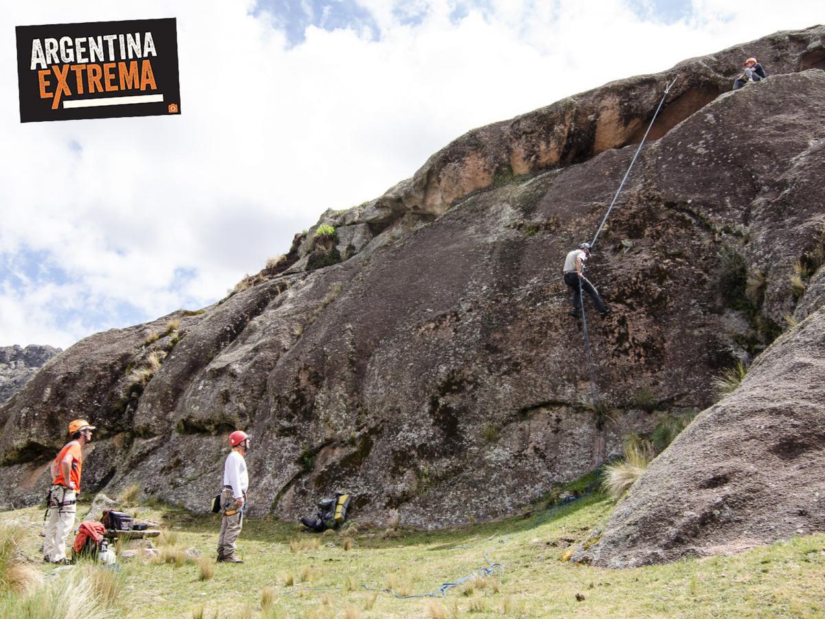 curso de escalada en roca en los gigantes cordoba 3 dias 349