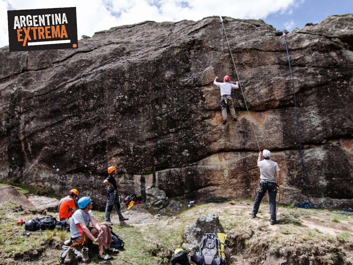curso de escalada en roca en los gigantes cordoba 3 dias 550