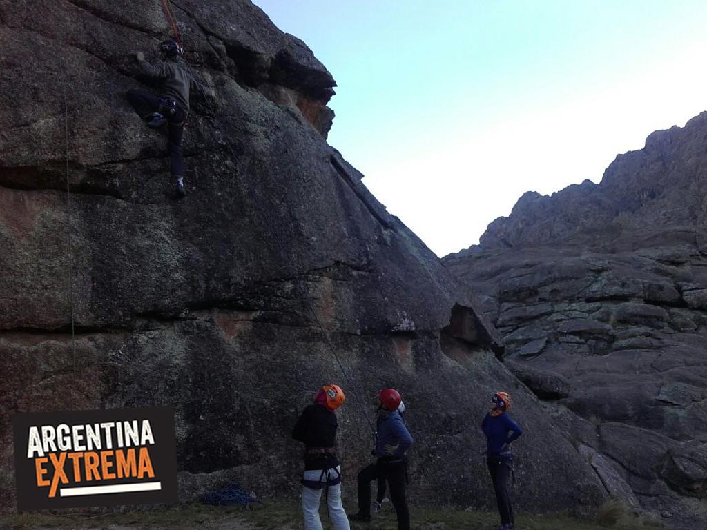 curso de escalada en roca en los gigantes cordoba 3 dias 722