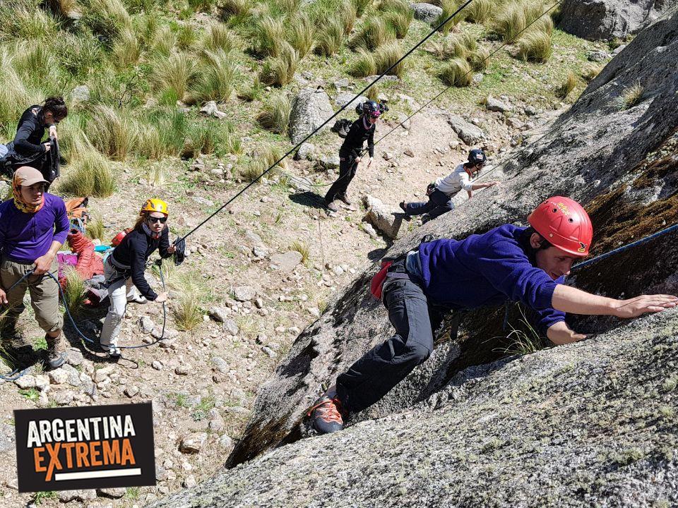 curso de escalada en roca en los gigantes cordoba 3 dias 771