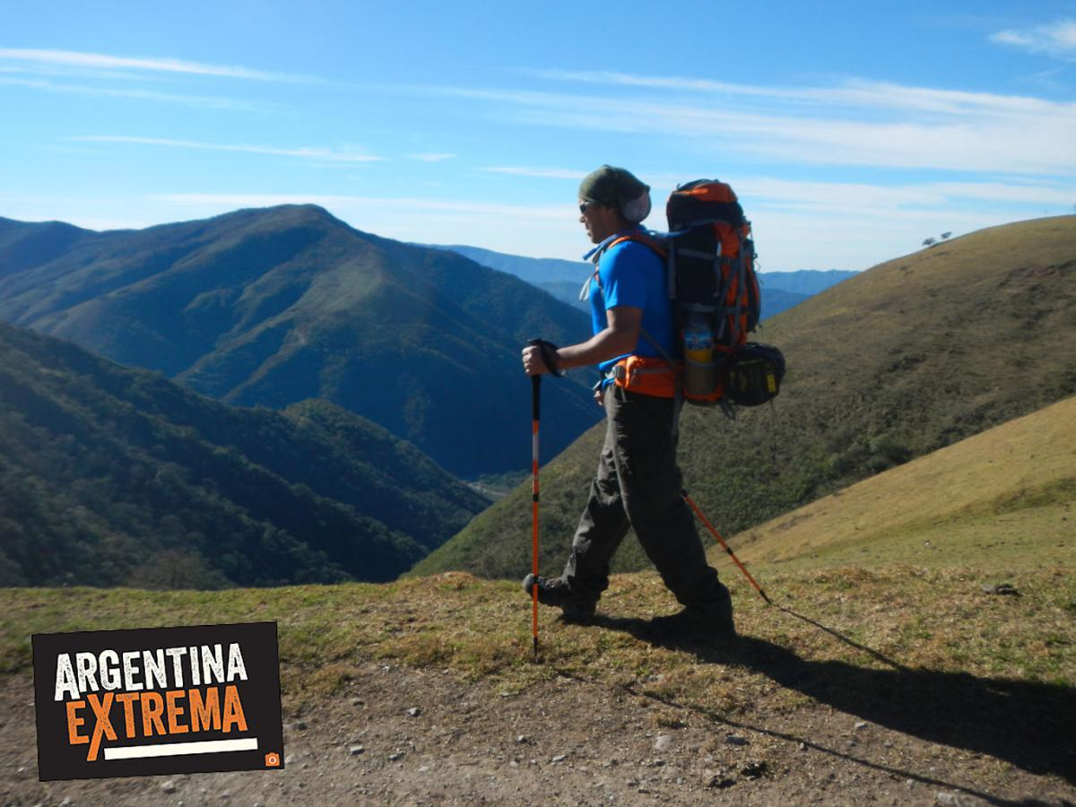 Mirador hacia el Valle del Rio Grande, cerca de Anfama