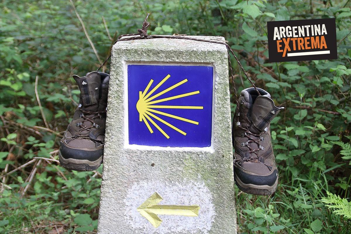 el camino de santiago trekking134