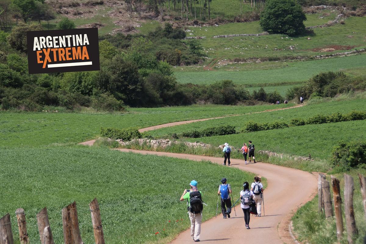 el camino de santiago trekking725