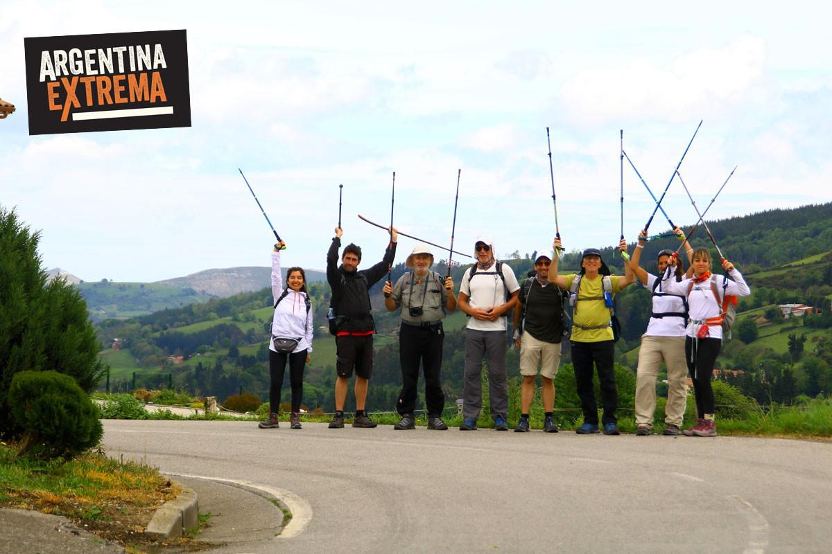 el camino de santiago trekking984