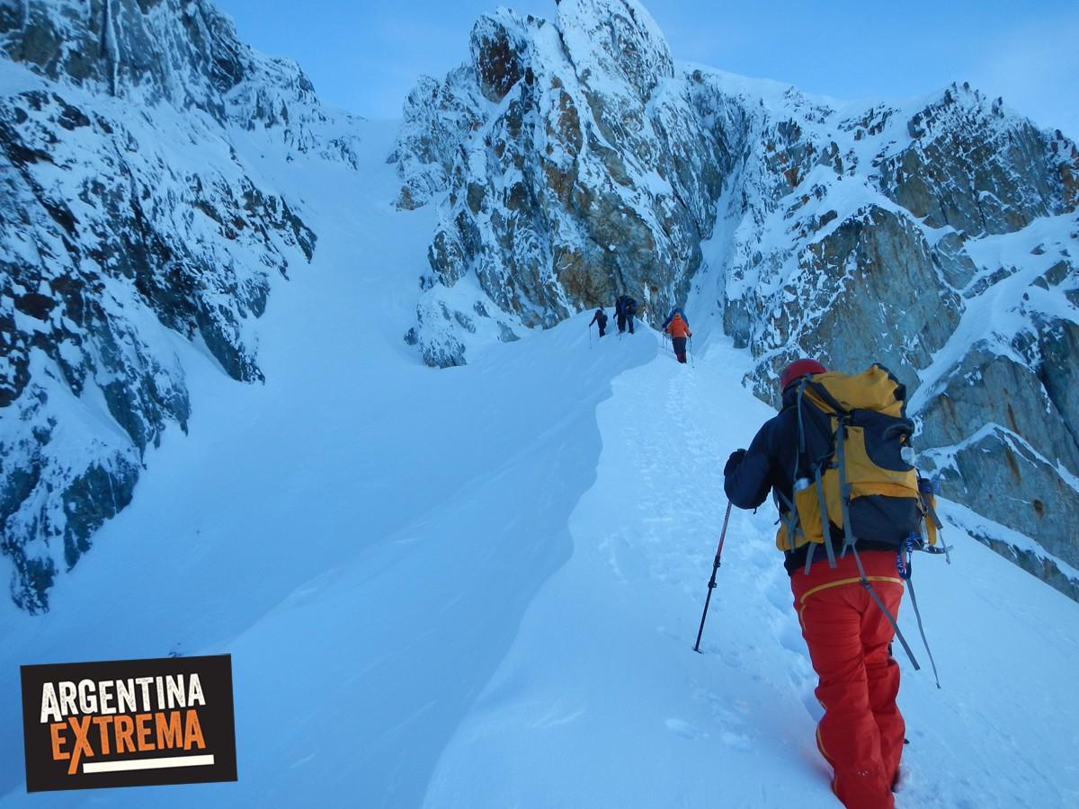 escalada monte alvear ushuaia