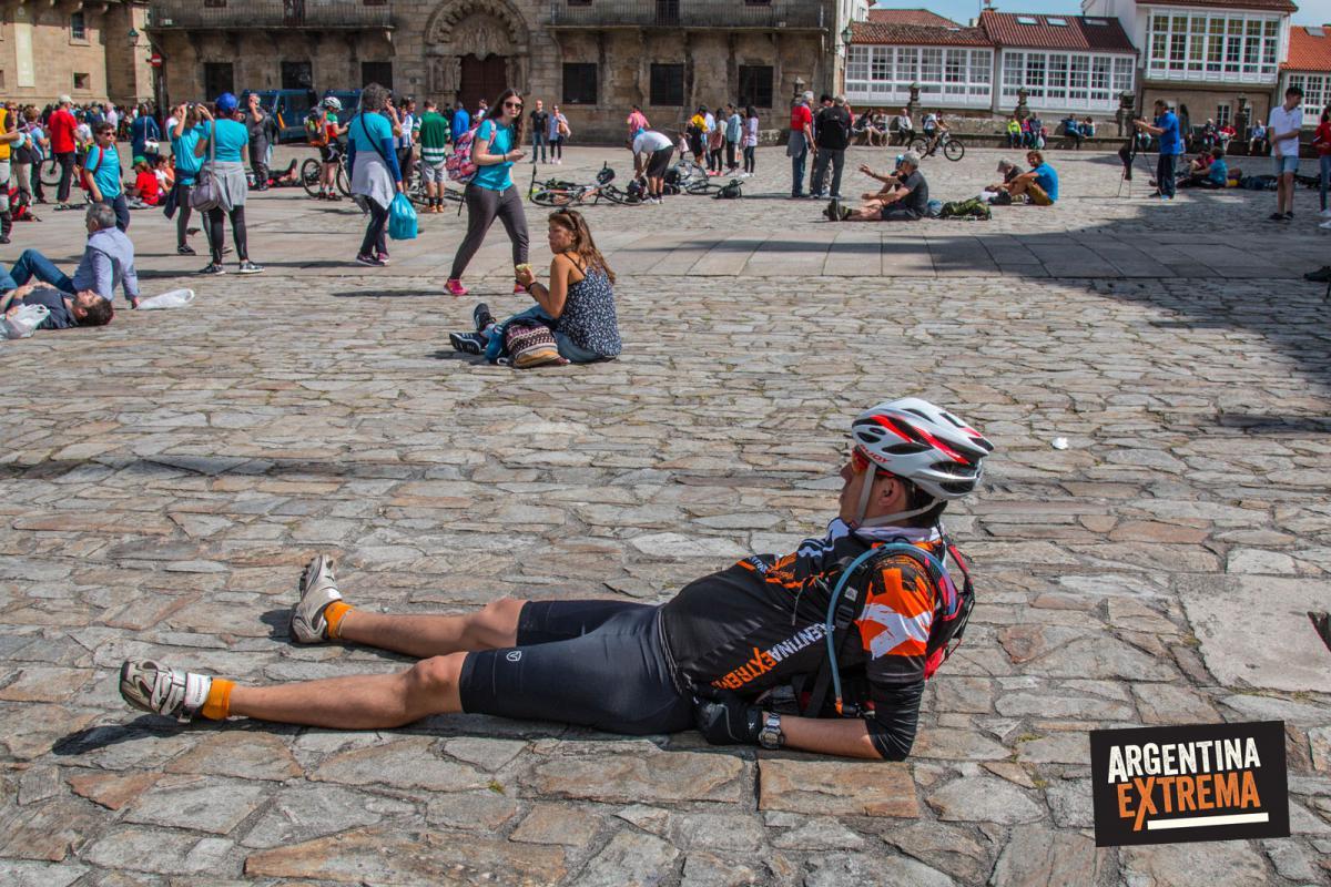Emotivo Final del Camino de Santiago