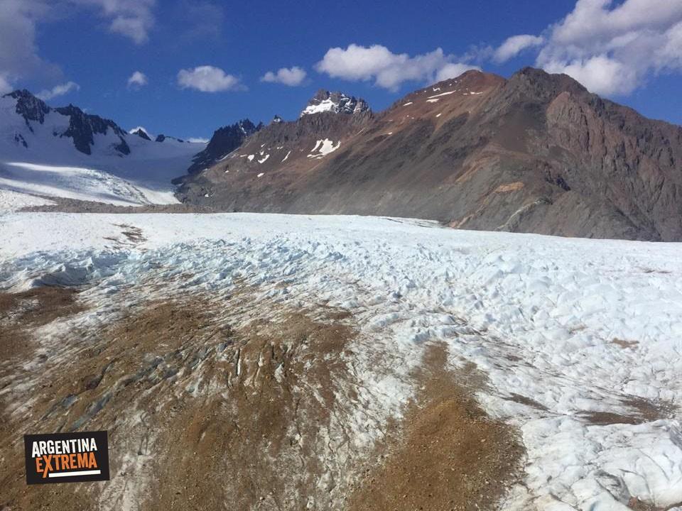 glaciar en el chalten