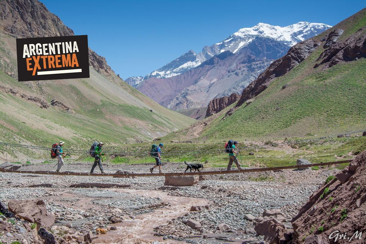 grupo cerrado trekking a plaza franciaplaza de mulas aconcagua 435