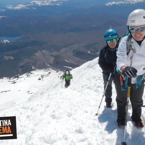 Una semana para ascender tres (3) de los volcanes más clasicos de la Patagonia Norte de Argentina y Chile