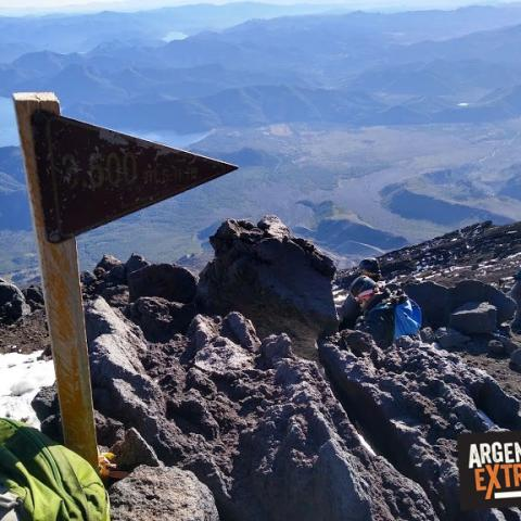 Lanin Volcano - Expedition to the summit - Neuquén - Patagonia