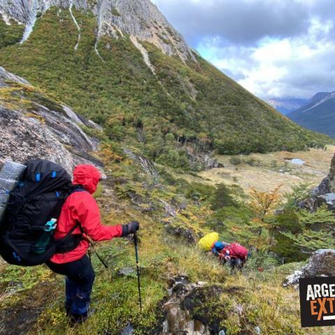 Trekking del Fin del Mundo - Paso Beban, Lago Fagnano, Ushuaia, Patagonia, Tierra del Fuego