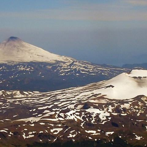 Expedición trivolcánica - Lanin, Villarrica, Quetrupillan - ascenso - montañismo