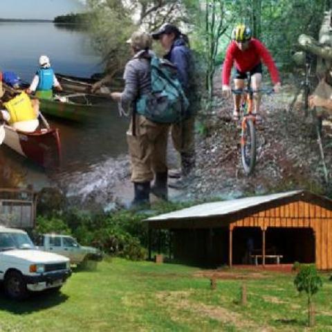Vacaciones de invierno - Multiaventura en Andresito + Cataratas del Iguazú - 4x4, senderismo, canotaje, mountain bike, ecoturismo - Misiones