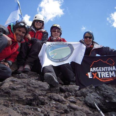 The last 5000- Cerro El Sosneado - Mountain Expedition to summit - Mendoza