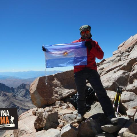 Nevado de Chañi Ascent - Jujuy-Salta- Trekking and high altitude mountaineering- Top of Chañi 5896 msnm  -