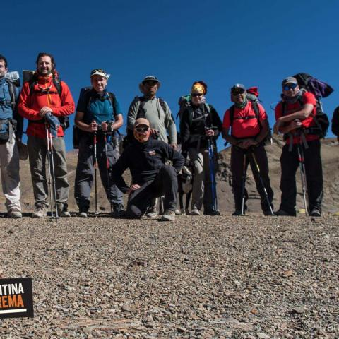Nevado de Chañi Ascent - Jujuy-Salta- Trekking and high altitude mountaineering- Top of Chañi 5896 msnm