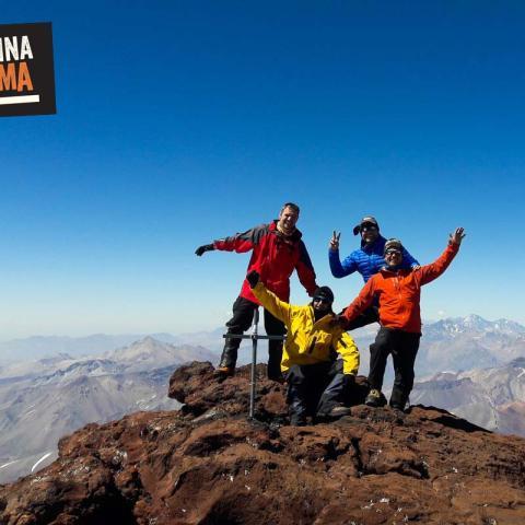 Volcán Maipo - Ascenso a cumbre - Laguna Diamante - Mendoza