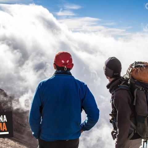 Ascent Cerro Plata, Vallecitos. Cordon del Plata. Mendoza