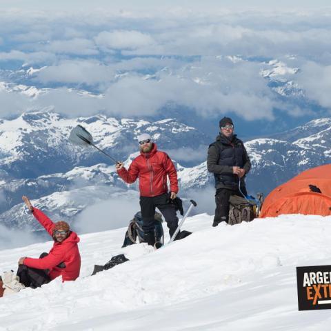 Expedición Cerro Tronador - travesia por Glaciares - Pico Argentino - Bariloche