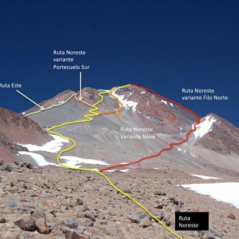Volcan Llullaillaco - 6739 msnm - Expedición y ascensión a cumbre - Volcan Tuzgle - +6500 - Andes - Salta