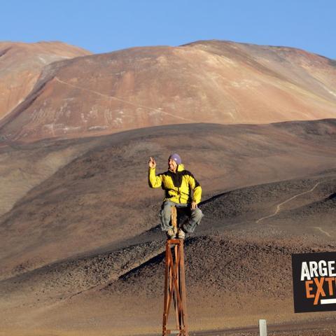 Ascenso al Volcán San Francisco 6040 msnm - Ruta de los Sesmiles - Catamarca  - 31-12-1969 11 de Enero!
