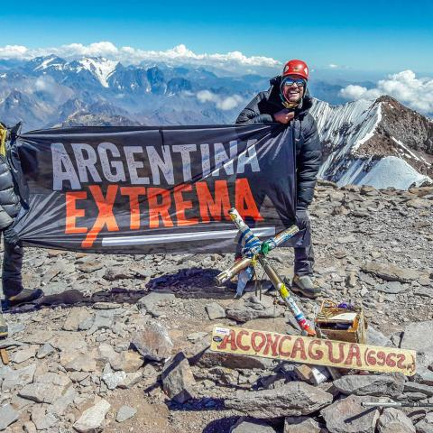 Aconcagua Expedition - Mendoza - 1969-Dec-31 06 de November!