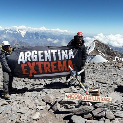 Aconcagua Expedition - The top of America - Mendoza - Argentina - 1969-Dec-31 05 de March!