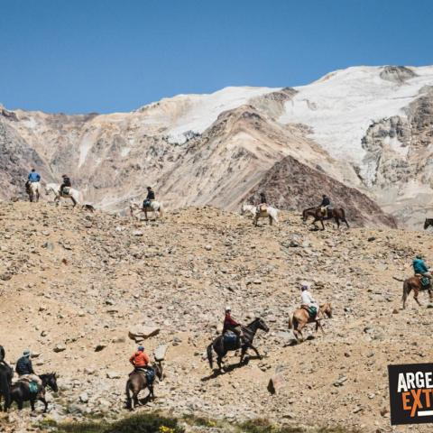 Horseback riding to the plane of The Andes Survivor - ALIVE - 1969-Dec-31 23 de October!