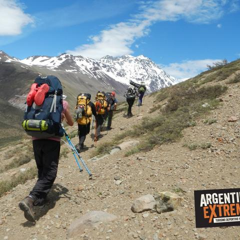 The Uruguayans plane - Trekking and Exploration - Commemoration of the 40th Anniversary - El Sosneado, Mendoza
