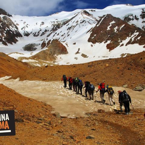 Trekking and Exploration to the Andes Survivor - El Sosneado, Mendoza