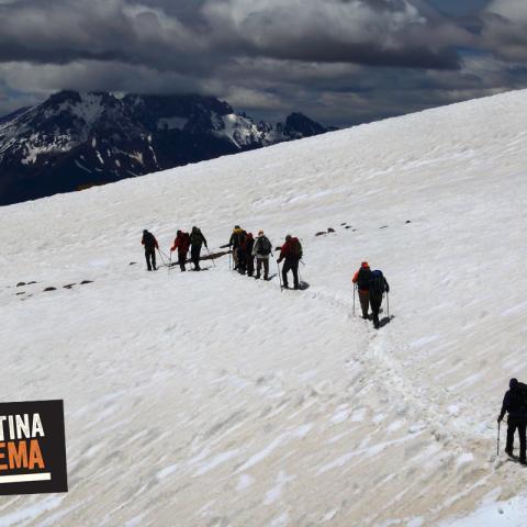 Valle de las Lágrimas - Hacia el Avion de los Uruguayos - Trekking - Mendoza
