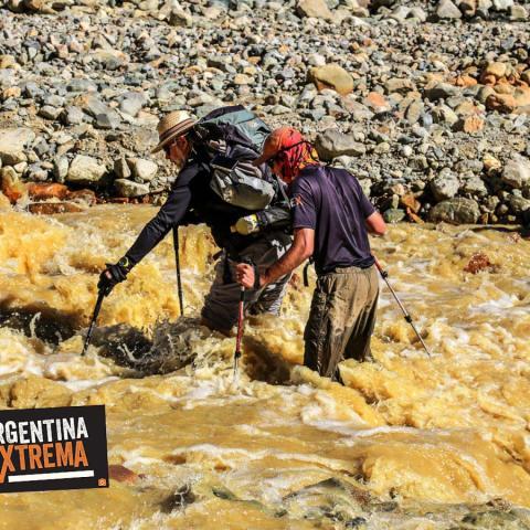 Uruguayans plane - Trekking and Exploration - El Sosneado, Mendoza -