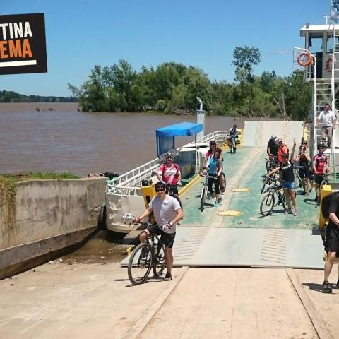 In bike (MTB) Otamendi and Islands of the Paraná - Buenos Aires