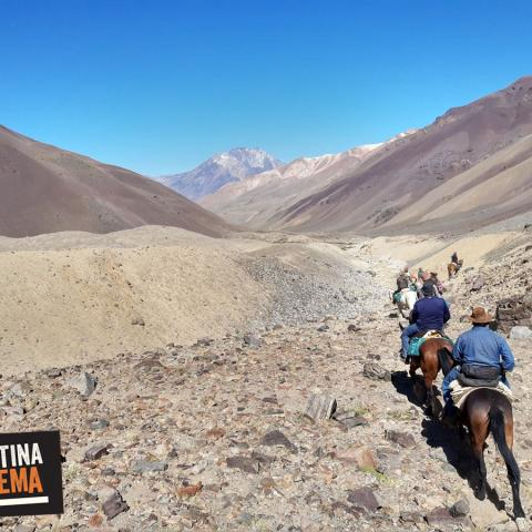 A 3 day - Horseback riding  to the Miracle of the Andes