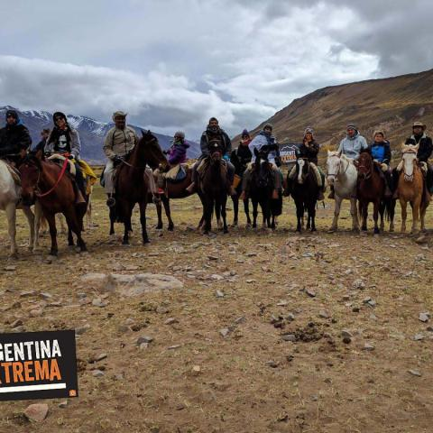 A horseback adventure full of history through  Valle de las Lágrimas.