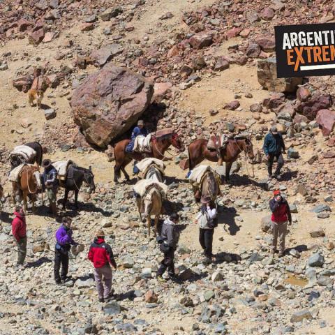 Horseback riding Alive -the Uruguayan rugbiers plane-