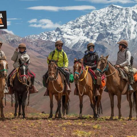 SanMartiniana Horseback Riding Across the Andes Argentina-Chile - Paso de Los Patos - 1969-Dec-31 23 de October!