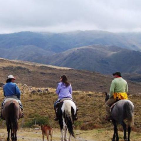 Cabalgata Serrana - Cruce Sierras Centrales de San Luis - Valle de Pancanta, Nogolí