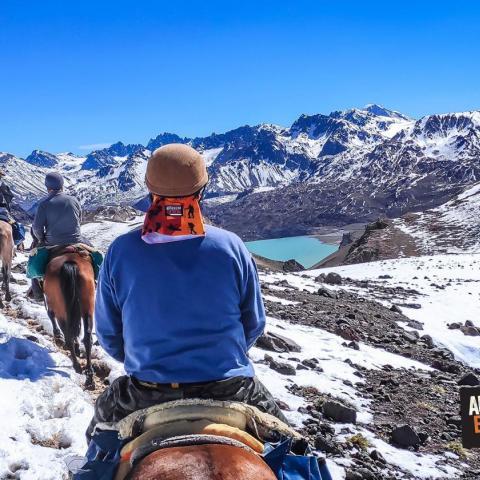 Cabalgata Cruce de los Andes - Laguna Atuel - Paso Planchón - Mendoza