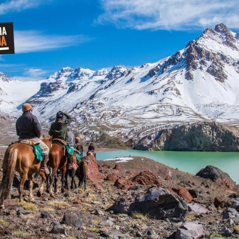 Horse Riding to the limit of the Andes- Mendoza- The Andes Range