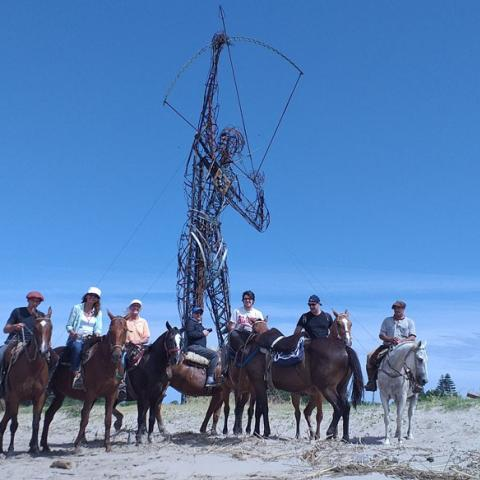 Horseback riding in Punta Indio - from La Pampa to Bahia San Borombón - Buenos Aires