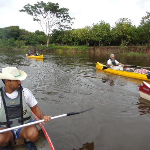 Two days canoeing throught Paraguay River + wetland Bañado La Estrella, Formosa