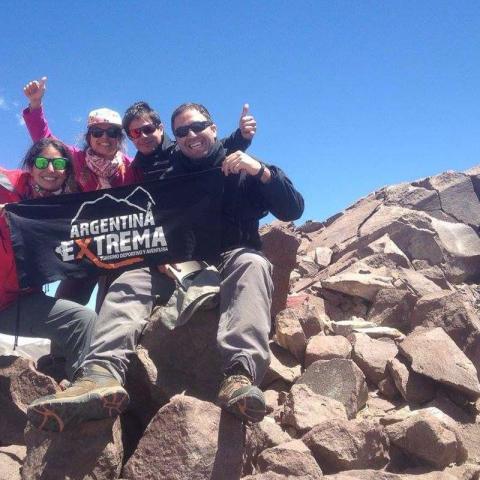 Trekking y ascenso Cerro La Horqueta (4100 msnm) - Iniciación al montañismo - Los Molles, Mendoza