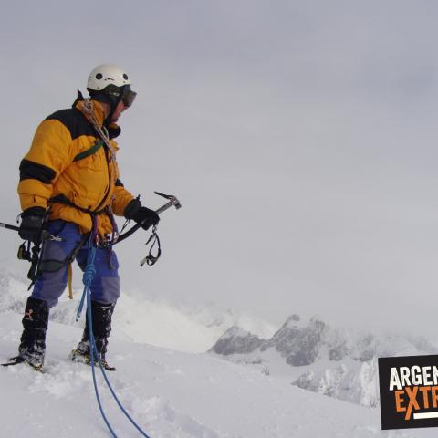 Escalada y Ascenso Monte Alvear. Tierra del Fuego, Ushuaia, Argentina