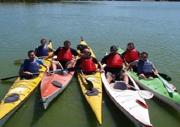 Senderismo - Kayaking - Rappel - Tirolesa. Balcarce y Sierra de los Padres
